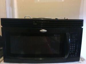 Black Cusinart Gold™ Microwave, rarely used for sale