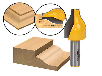 Ogee Vertical Raised Panel (Ogee Vertical Raised Panel Router Bit - 1/2