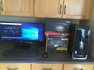 High End Dell XPS PC with New LG Monitor