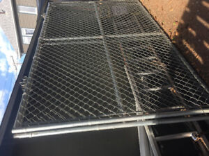 2 sections chain link gate/fence
