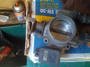 JEEP 4.0 LITER THROTTLE BODY WITH ALL SENSORS