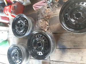 "15"" rims all 4 for $30"