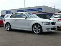 2010 BMW 1 Series 118d Sport 2dr ++ HALF LEATHER ALLOYS ++ COUPE Diesel Manual