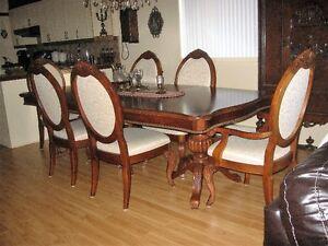 set de cuisine,mobilier salle à manger,table,chaise,victorien