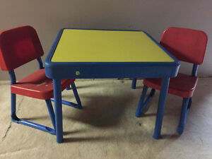 Fisher Price Table & Chairs