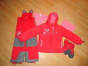 2 Habits de neige fille Souris-Mini 4 ans