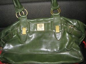 Jessica simpson green leather purse