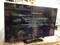 Bush 32 inch TVs HD with remote and stand and 2 month warranty