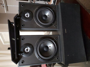 Sony Center and Rear Speakers