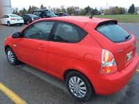 2007 Hyundai ACCENT with Safety