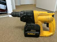DEWALT DW004 24v SDS HAMMER DRILL