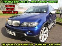 2005 BMW X5 3.0d Auto Le Mans Blue Sport Edition - KMT Cars