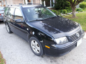 Black VW Jetta Station Wagon Diesel (TDI)