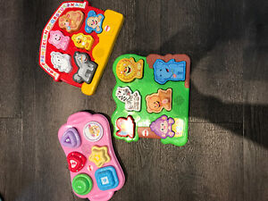 Fisher price puzzles