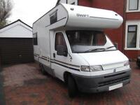 SWIFT SUNDANCE 500, COMPACT, 4 BERTH, U LOUNGE, 5.2 M LONG