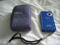 Compact JVC Full HD Camcorder with FREE Golla case.