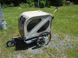 Wagon for bike made for dog or camping gear