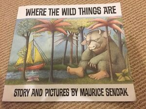 WHERE THE WILD THINGS ARE by Maurice Sendak
