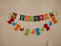 Custom handmade birthday banners/ any party banner