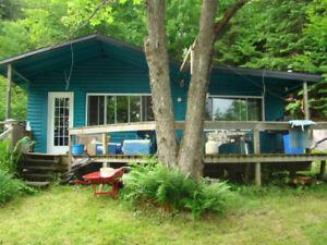 Chalet a vendre Lac Gagnon