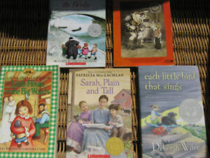 Lot CHILDREN BOOKS: Laura INGALLS, Jacob Two-Two, Sarah++ 5/5$
