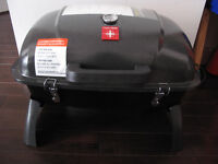 Portable Propane Gas Grill with Folding Legs (New and Assembled)
