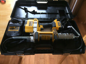 Dewalt 20V XR Lithium Ion Grease Gun - Brand New, Never Use
