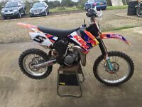 Ktm 85 - race bike - motocross