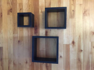 Black Box Shelves - Great Conditon !!