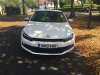 Volkswagen Scirocco. 20.tdi couple in white Px welcome