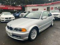 2000 BMW 3 Series 1.9 318Ci 2dr Coupe Petrol Manual