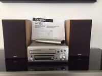Immaculate Condition Denon Sound system with matching speakers hardly been used from John Lewis