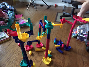 Marble obstacle course