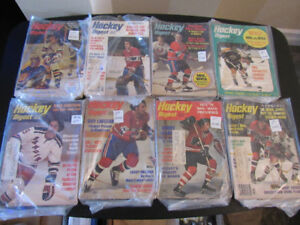 11 - Old Hockey Digest Magazines