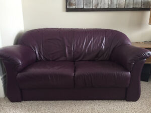 Authentic Leather Couches