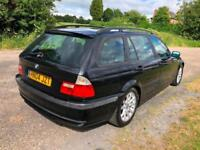 04 BMW 320D 2.0 TD TOURING ESTATE LOW 136K NO ADVISORIES £500 JUST SPENT PX SWAP