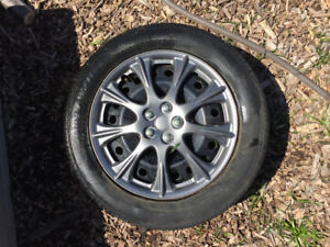 215/55R16 5 bolt tires and rims