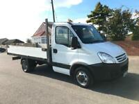 2007 Iveco Daily 35C12 Aliminium Dropside Body Tested In White