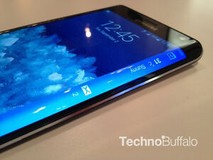 Mint Condition Samsung GALAXY Note Edge (Black)-(Unlocked)32GB=$