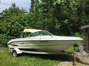 1996 175 Five series Sea Ray Bowrider