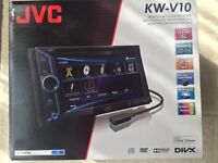JVC Double Din As New