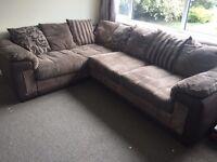 Dfs corner sofa 1yr old