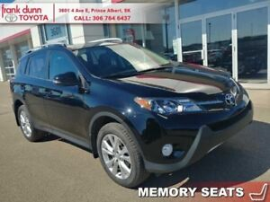 2014 Toyota RAV4 Limited  - Certified - Navigation - $164.83 B/W