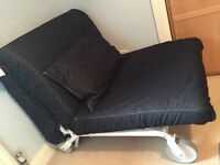 IKEA PS Lovas chair bed ( single size) immaculate condition