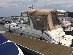 bateau avec remorque à vendre