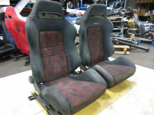 Jdm Mitsubishi Lancer Evolution Recaro Seats Evo 4 Recaro Seats