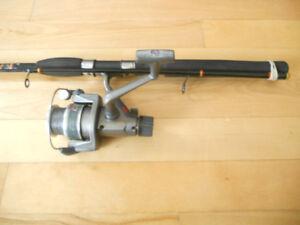 Canne moulinet Abu Garcia and Big Fish, Fishing rod and reel