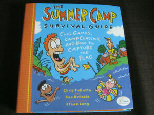 NEW copy of The Summer Camp Survival Guide for kids - Lots of fu