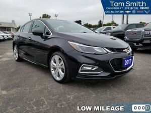 2017 Chevrolet Cruze Premier  - Leather Seats - $154.68 B/W