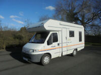 Swift Sundance 590 RL 4 Berth LOW MILEAGE Motorhome For Sale SALE AGREED